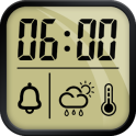 Alarm clock and weather forecast, stopwatch