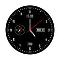 Analog clock & watch face live wallpaper