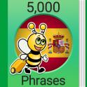 Speak Spanish - 5000 Phrases & Sentences
