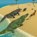 Crocodile Family Simulator Games 2020