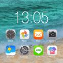 iLauncher OS11-Phone X style