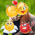 Emoji Face Photo Editor Stickers For Pictures