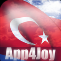 3D Turkey Flag Live Wallpaper
