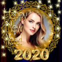 2020 New Year Photo Frames Greeting Wishes