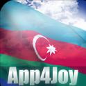 3D Azerbaijan Flag Live Wallpaper
