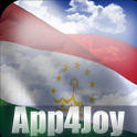 3D Tajikistan Flag Live Wallpaper