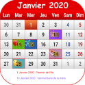 Français Calendrier 2020