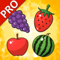 Fruits Cards PRO (Learn Languages)