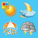 天気と季節図鑑 V2(英単語絵カード/子供のジグソーパズル)