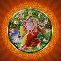 Radha Krishna Clock LWP