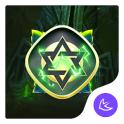 Magical Thunder golden-APUS Launcher theme