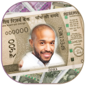 New Indian Rupee Photo Frame