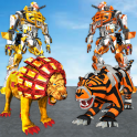 Ultimate Robot Lion Vs Tiger Robot Transform