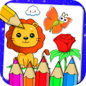Drawing and Coloring Book Game