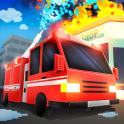 Cube Fire Truck: Firefighter