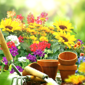 Garden Live Wallpaper HD Flower Background 3D