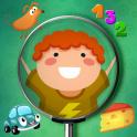 見つけると子供のための学習ゲーム