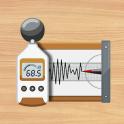 소음측정기,지진계 : Sound Meter Pro