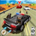 Policía Autopista Persecución en Ciudad - Crimen C
