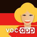 Learn German Vocabulary: Voc App German Flashcards