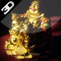 Laughing Buddha Live Wallpaper