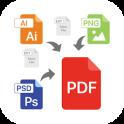 File to PDF Converter(Ai, PSD, EPS, PNG, BMP, Etc)