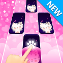 Dream Cat Piano Tiles:Free Rhythm Music Games