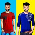 Men T Shirt Photo Suit Editor - Design T Shirt