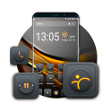 Blackgold Launcher theme for you