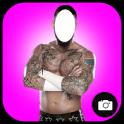 Man Tattoo Photo Suit
