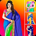 Woman Fancy Saree Photo Suit Editor