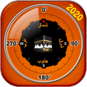 Athan, Qibla Direction Compass, Prayer Times 2020