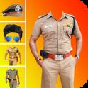 Men Police Suit Photo Editor 2020