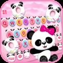 Pinky Panda Donuts New Tema de teclado