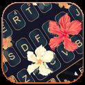 Autumn Floral Keyboard Theme