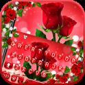 Love Red Rose Tema de teclado