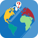 QuestiOnMap quiz. Geography Game FREE