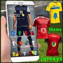 jersey soccer theme