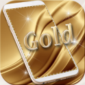 Luxury gold Live Wallpaper Theme