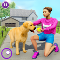 Family Pet Dog Home Adventure Game