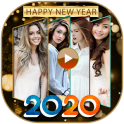 Happy New Year Photo Video Maker 2020