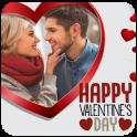 Valentine's day photo frame