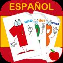 Números 0-10 spanischen Zahlen