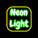 Neon Light Board For Scrolling Text