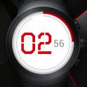 Flat Watch Face & Clock Live Wallpaper