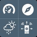 GPS Speedometer, Live Weather