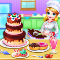Sweet bakery Dessert Chef-Cake game & Baking Games