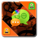 Monster Halloween GO SMS Theme