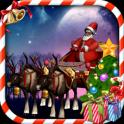 Santa sleigh parking 3D