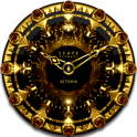 ASTONIA Luxury Clock Widget